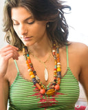 Jalus One of a kind Vintage Tibetan Necklace by Sage - The Sage Lifestyle