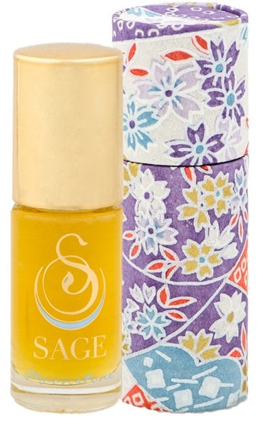 INDULGE ~ Moonstone Gemstone Perfume Roll-On and EDT Gift Set by Sage - The Sage Lifestyle
