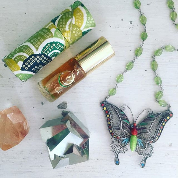 Peridot Gemstone Perfume Oil Roll-On by Sage - The Sage Lifestyle