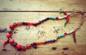 Chime One of a kind Vintage Tibetan Necklace by Sage - The Sage Lifestyle