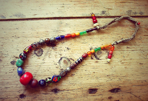 Hariti One of a kind Vintage Tibetan Necklace by Sage