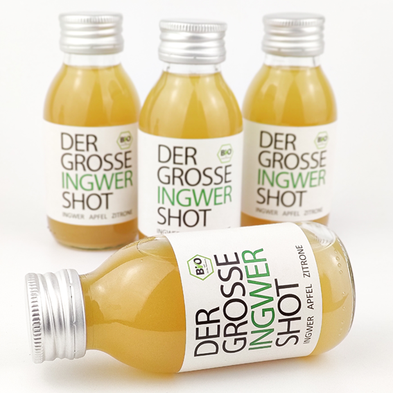 4er Pack Ingwer Shot 100ml