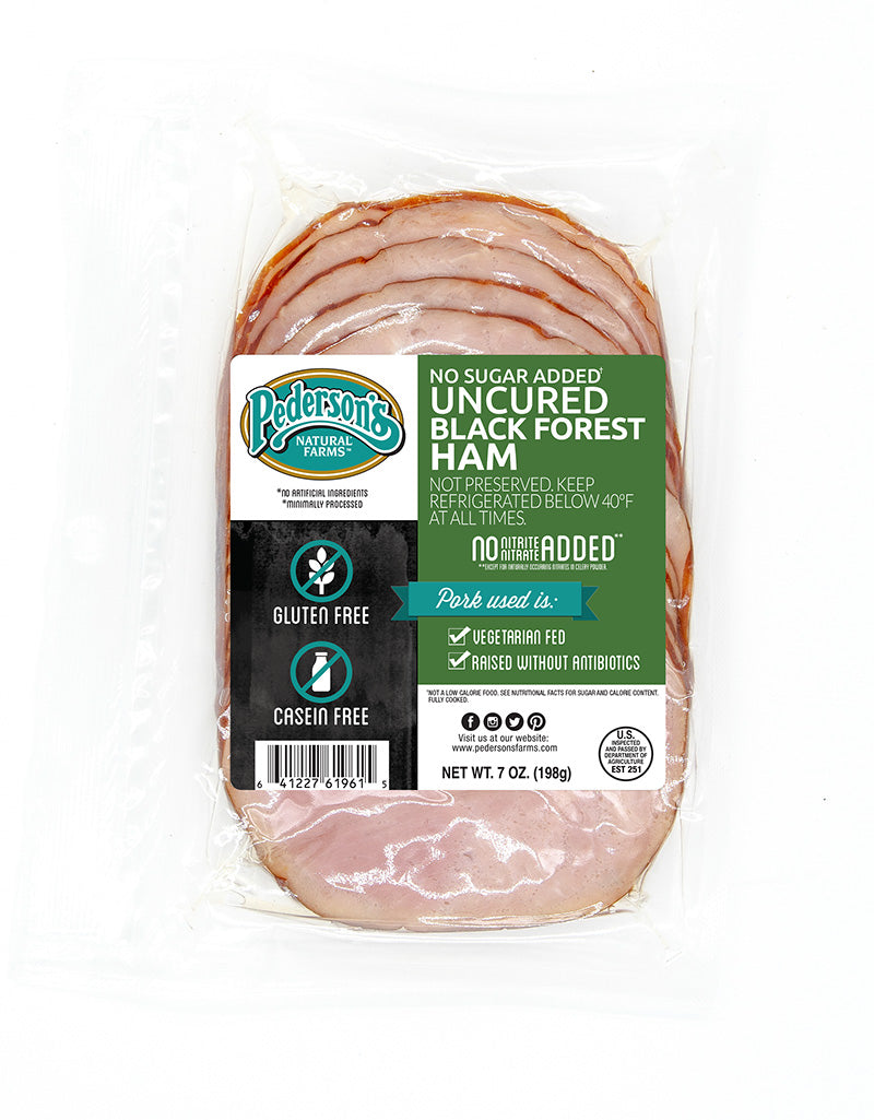 NO SUGAR ADDED UNCURED BLACK FOREST HAM