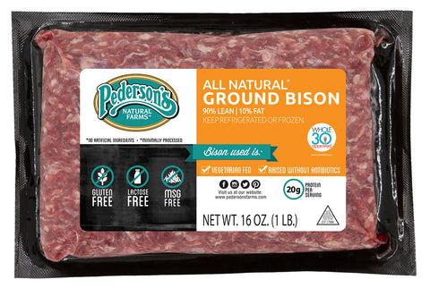 ALL NATURAL GROUND BISON