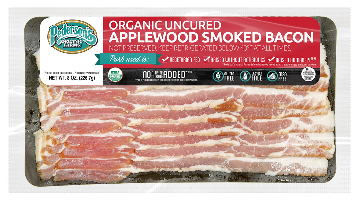ORGANIC UNCURED APPLE SMOKED BACON