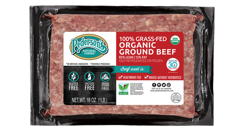 100% GRASS-FED ORGANIC GROUND BEEF (3 PACK)