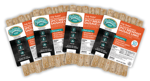 FULLY COOKED SPICY BREAKFAST SAUSAGE LINKS (4 PACK)