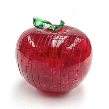 Load image into Gallery viewer, Apple (Red) Dimension: 75mm x 75mm x 75mm  Color: Green/Red  Number of Pieces: 44  Weight: 220g