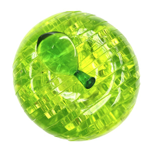 Apple (Green) Dimension: 75mm x 75mm x 75mm Color: Green Number of Pieces: 44 Weight: 220g