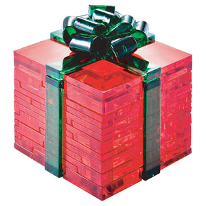 Ribbon Gift Box (Christmas)