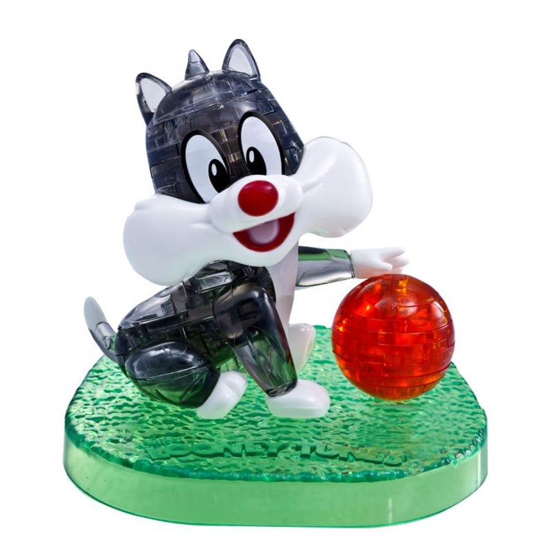 Baby Sylvester *Shipping available only to the following region: Hong Kong, Macao* Dimension: 105mm x 100mm x 100mm  Color: Black/White/Red/Green  Number of Pieces: 50  Weight: 185g