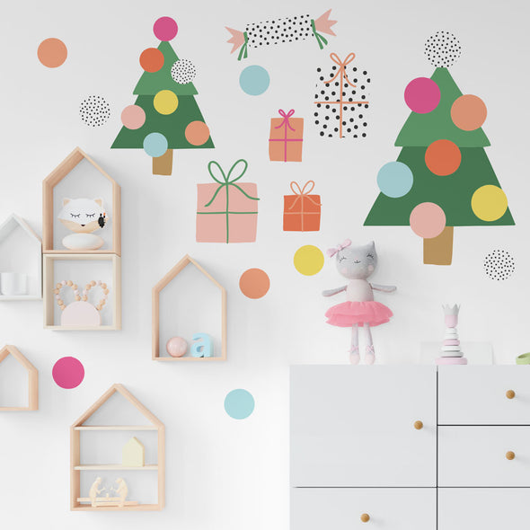 Brook Gossen Christmas Wall Decals