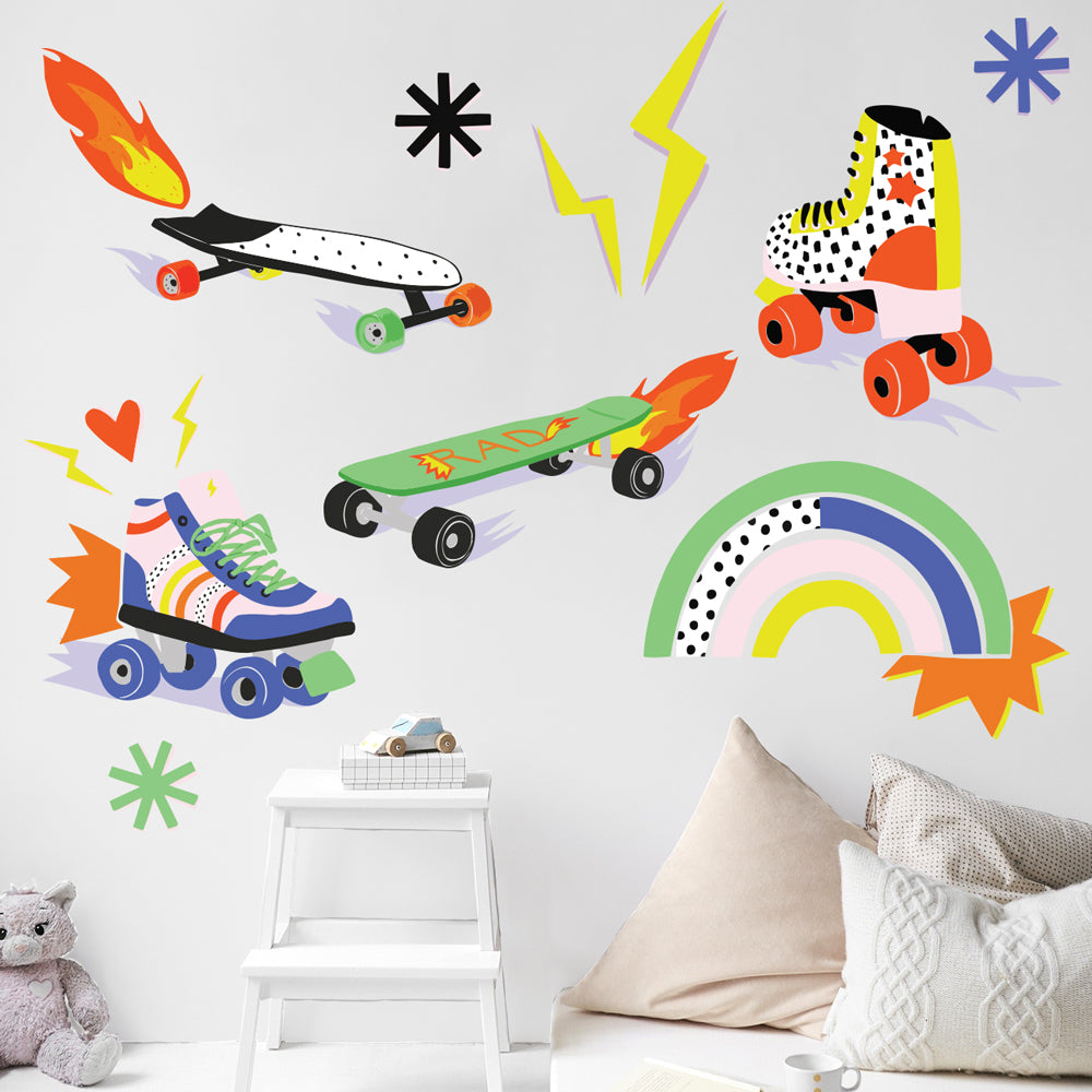 Brook Gossen Later Skater Wall Decals
