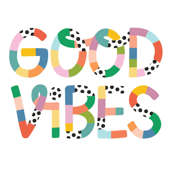 Brook Gossen Good Vibes Wall Art Print