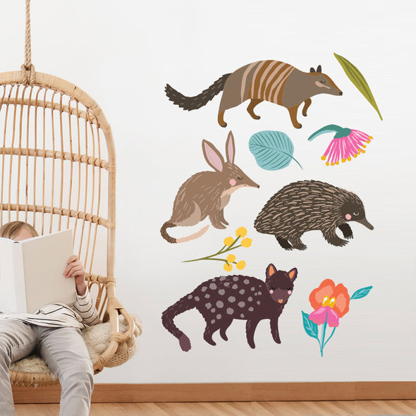 Christie Williams Aussie Animals Wall Decals