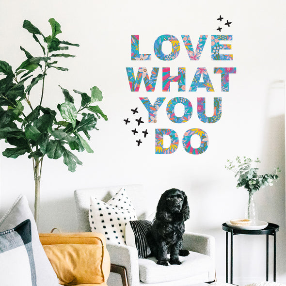 Christie Williams Do What You Love Wall Decals
