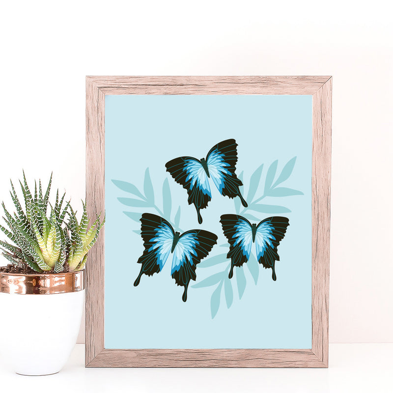 Christie Williams Ulysses Butterfly Wall Art Print