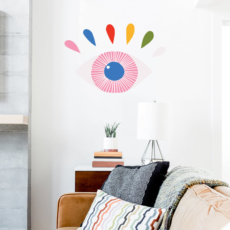 Lisa Congdon Magic Eye Wall Decals