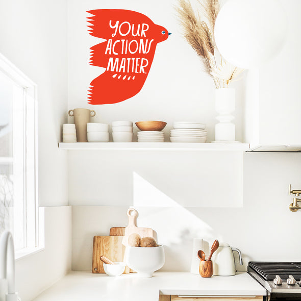 Lisa Congdon Your Actions Matter Wall Decals
