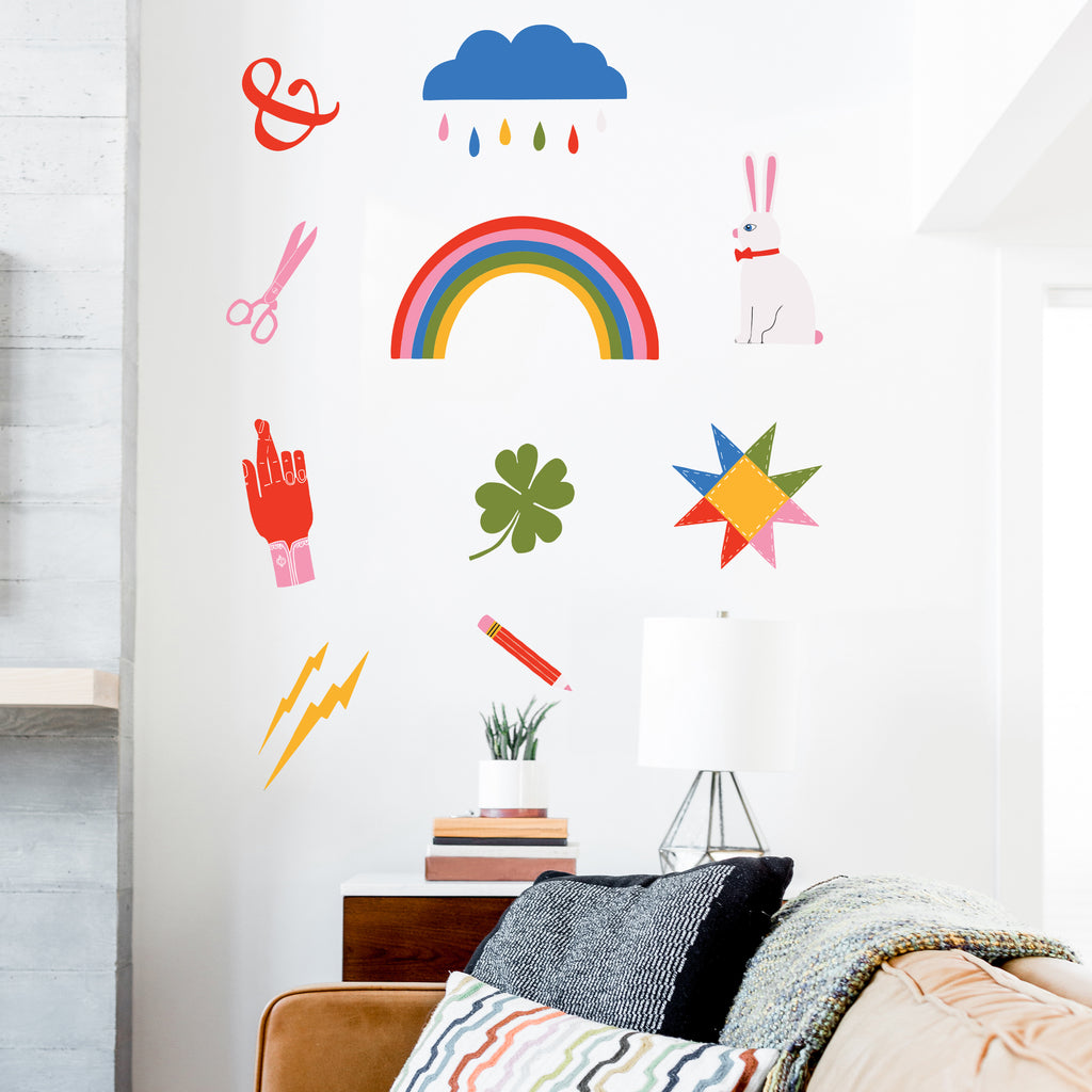 Lisa Congdon Bonne Chance Wall Decals