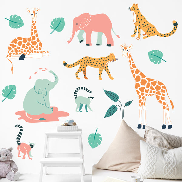 The Tiny Garden Wildlife Treasures Wall Decals