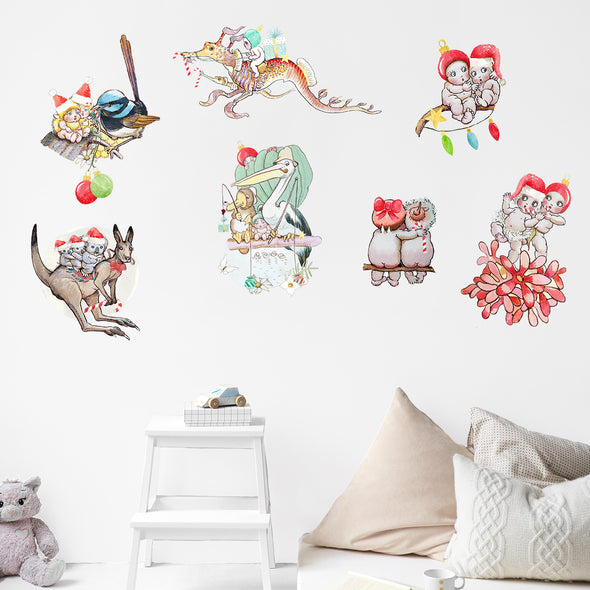 May Gibbs Christmas Mega Pack Wall Decals
