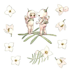 May Gibbs Boronia Babies Wall Decals