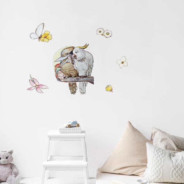 May Gibbs Cockatoo Wall Decals