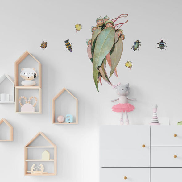 May Gibbs Friends and Bugs Wall Decals