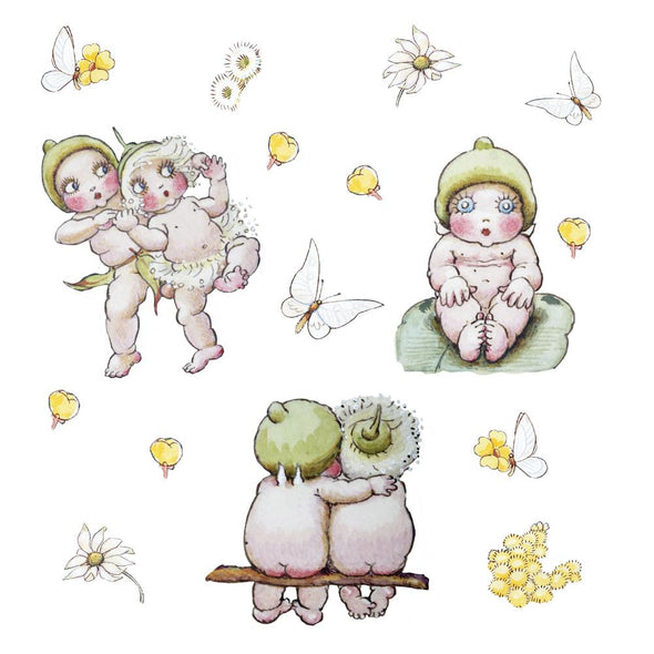May Gibbs Gumnut Friends Wall Decals