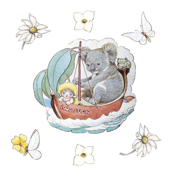 May Gibbs Koala Boat Wall Decals
