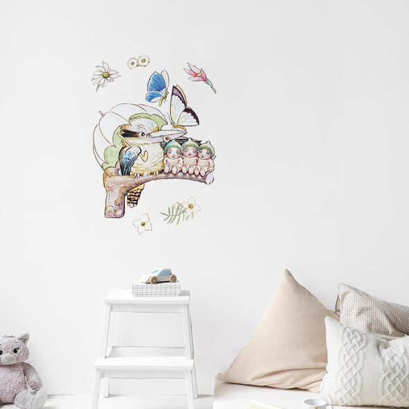 May Gibbs Kookaburra Wall Decals