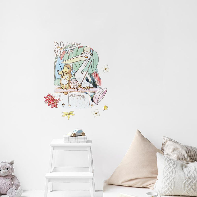 May Gibbs Pelican Wall Decals