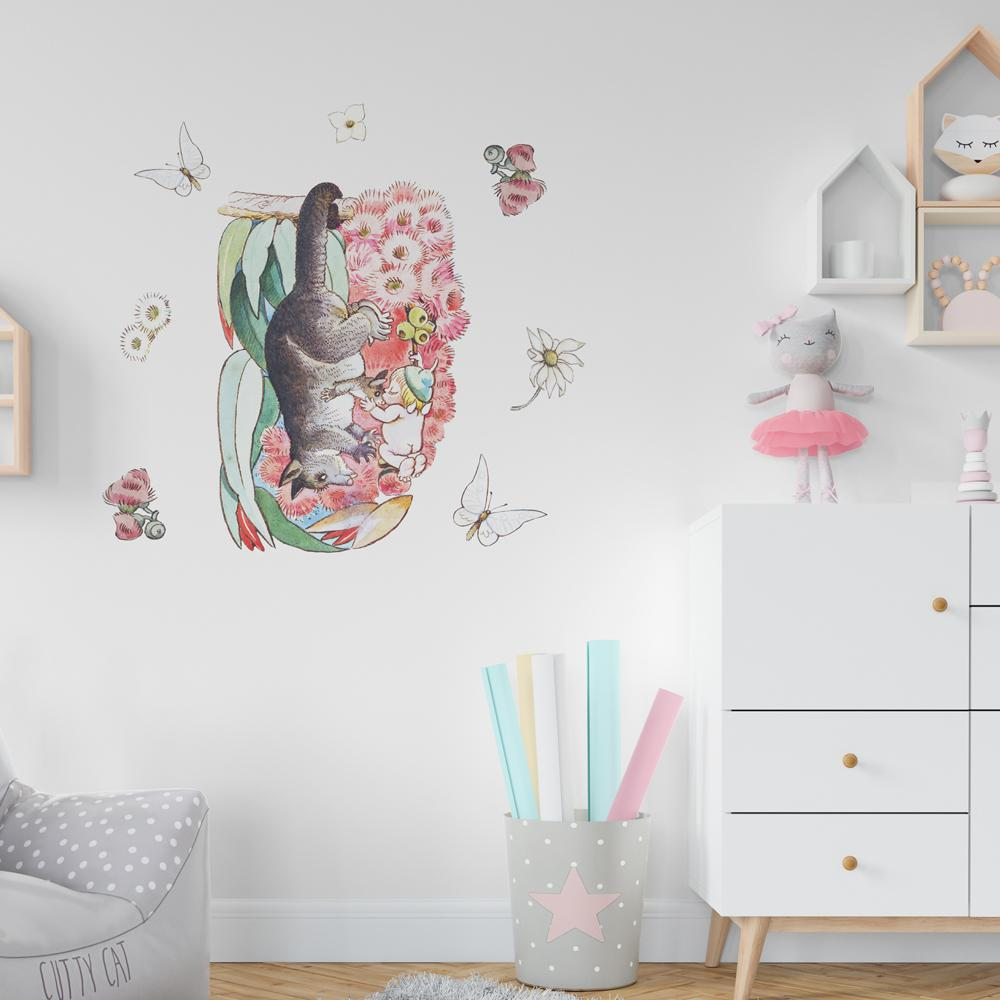 May Gibbs Possum Wall Decals