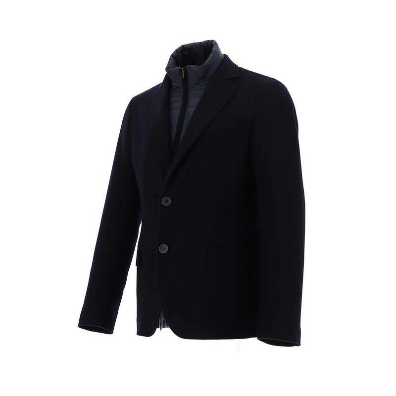 Navy Lined Stretch Jacket