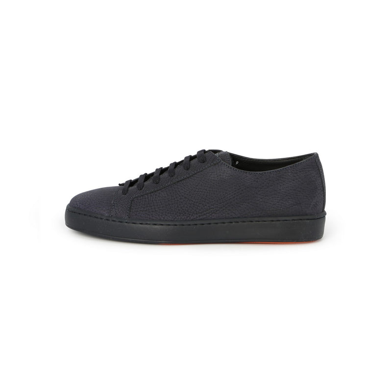 Cleanic Sneakers in Navy Grained Nubuck