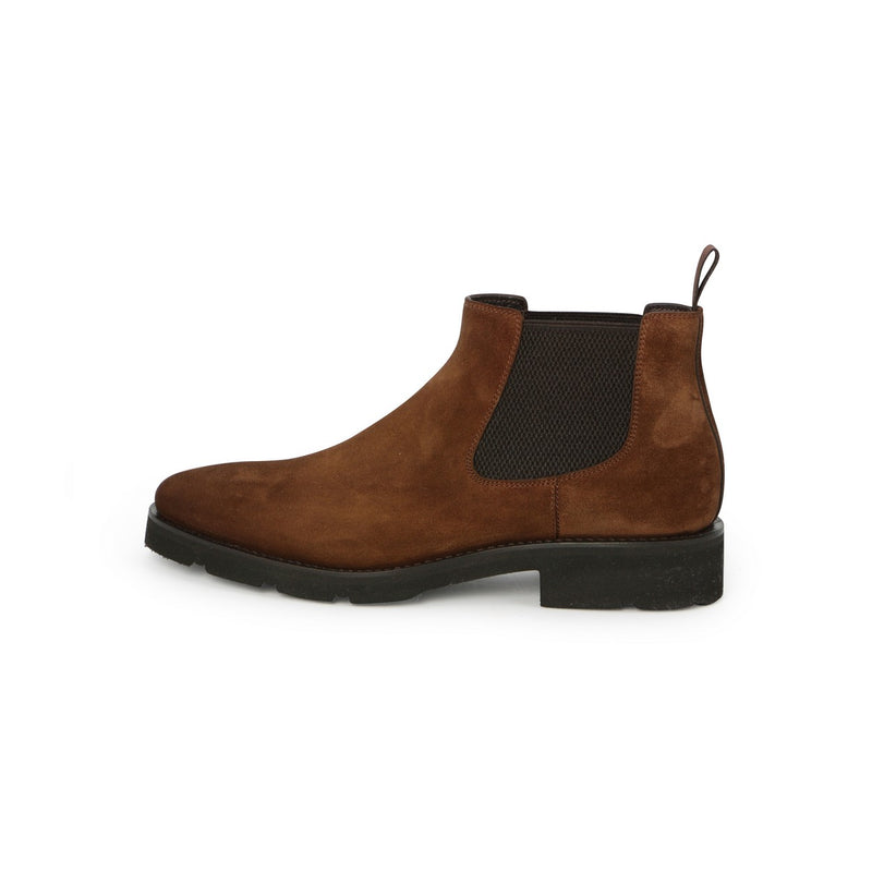 Chelsea Boots in Brown Suede