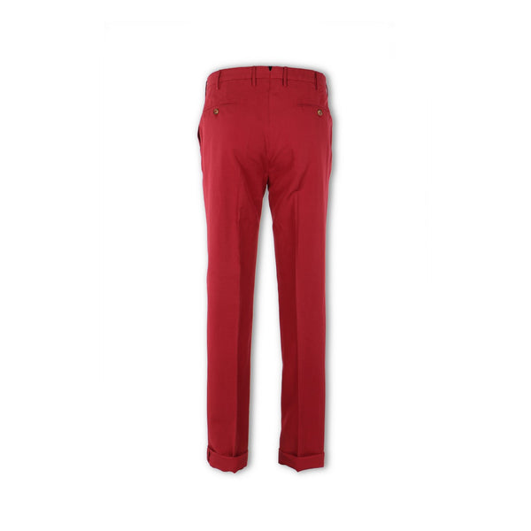 Red Linnen Chino Pants
