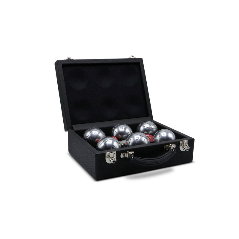 Petanque Competition Bowls in Leather Case