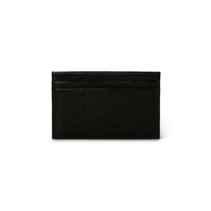Black and Brown Grained Leather Notepad
