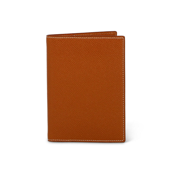Brown Grained Leather Directory