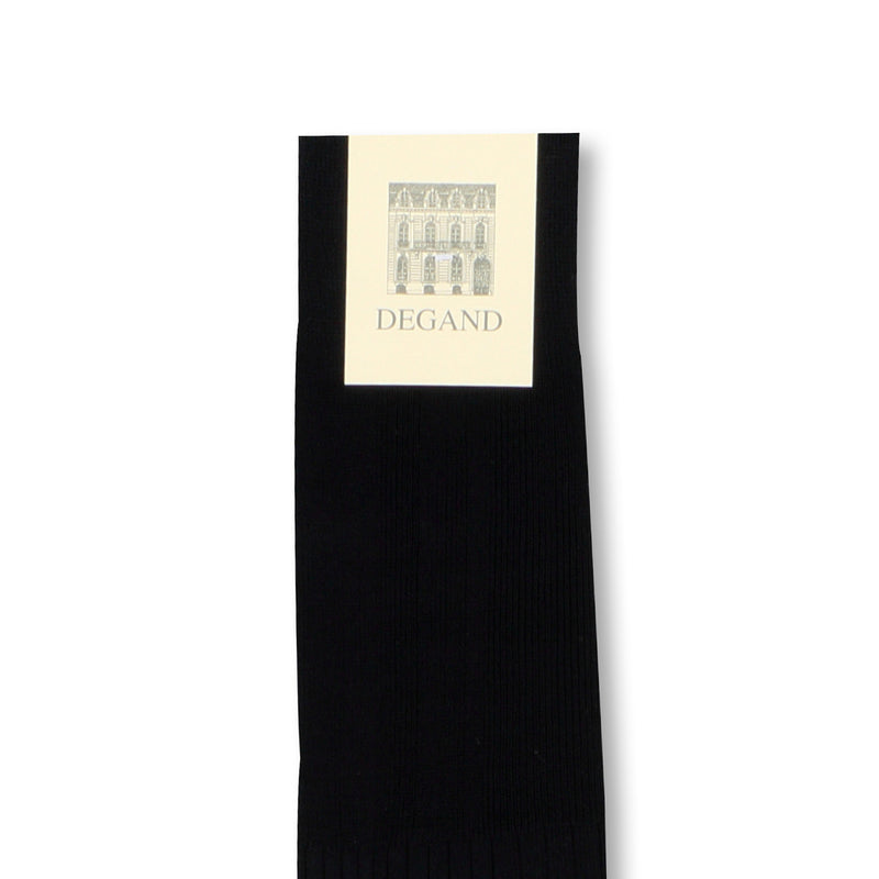 Plain Navy Scotland Thread Long Socks