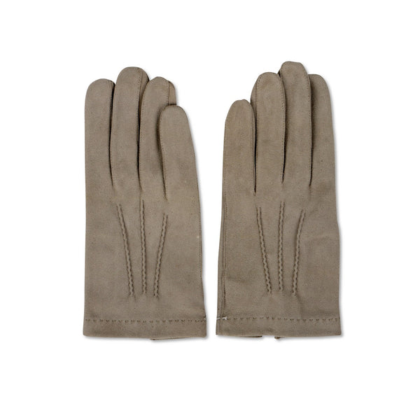 Lamb Velvet Grey Ceremony Gloves