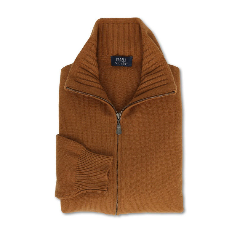 Vicuna Vista Zipped Cardigan