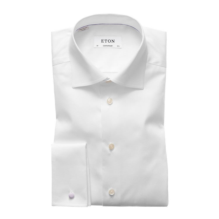 White french cuff shirt