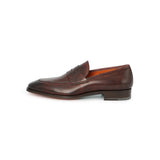 Duke Loafers in Coffee Old England Leather