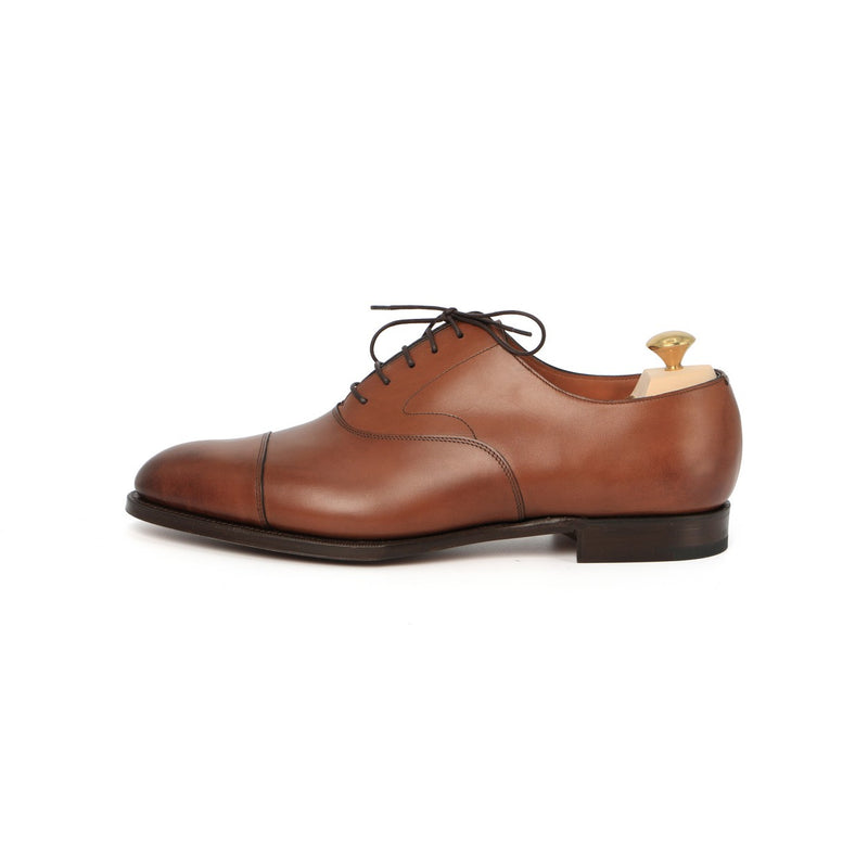Chelsea Oxfords in Burnt Pine Leather