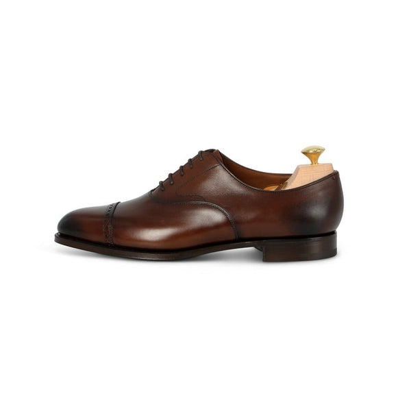 Berkeley Oxford in Dark Oak Leather