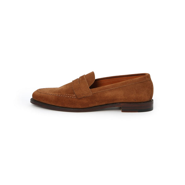 Penny Loafers in Tobacco Suede