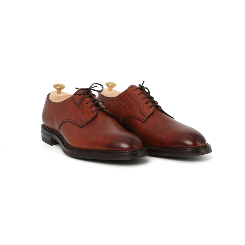 Windermere Laced Derbies in Rosewood Leather